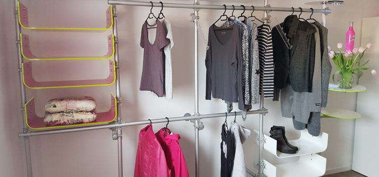 Ladenbau Textil Kleiderregal
