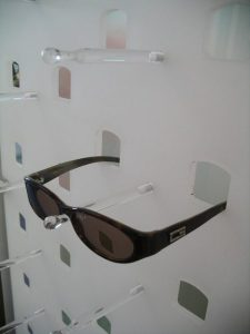 Brillenhalterung Acrylglas für Ladeneinrichtung