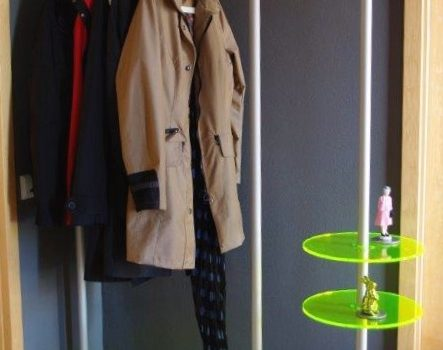 Büro Garderobe Wandgarderobe im Büro