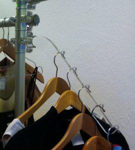 Kleiderhänger Acrylglas Ladeneinrichtung