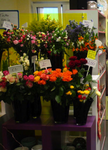 Ladenbau Floristik Ladeneinrichtung Blumen