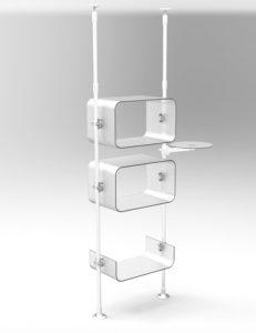 Ladenbau Mobilfunk Schaufensster Display Handyshop