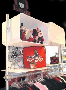 Ladenbau Mode Ladeneinrichtung weiss
