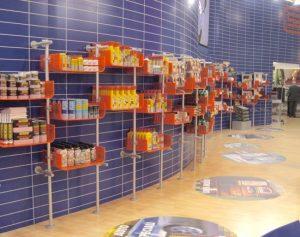 Ladeneinrichtung Regale Warenpräsentation Einzelhandel