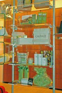 Schaufenster Display Apotheke Ladeneinrichtung