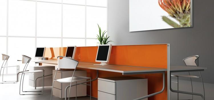 Schallschutz Trennwand für Büro oder Callcenter