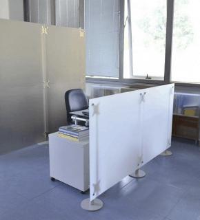 Ladeneinrichtungen trennw nde ladenausstattung raumteiler - Trennwand bauen mit tur ...