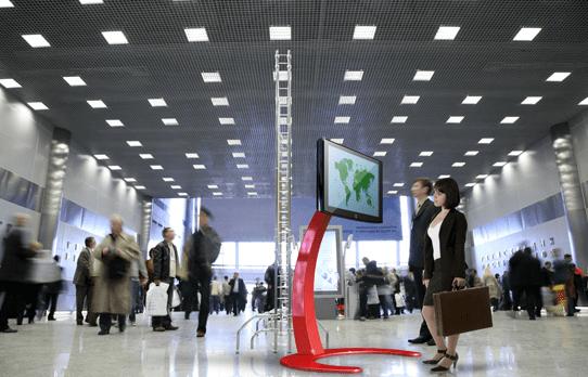 TV Ständer Standfuss Messe für LED LCD Monitore bis 60 Zoll