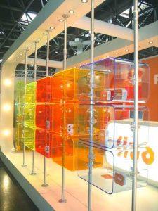Ladenbau Spielwaren Acrylglas Ladeneinrichtung