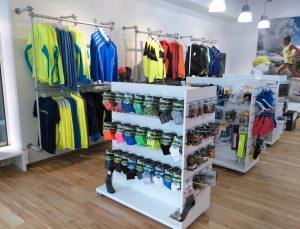 Ladeneinrichtung Ladenbau Sportartikel