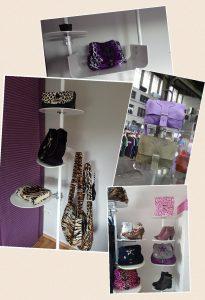 Taschenständer selbststehend für Ladenbau Taschen