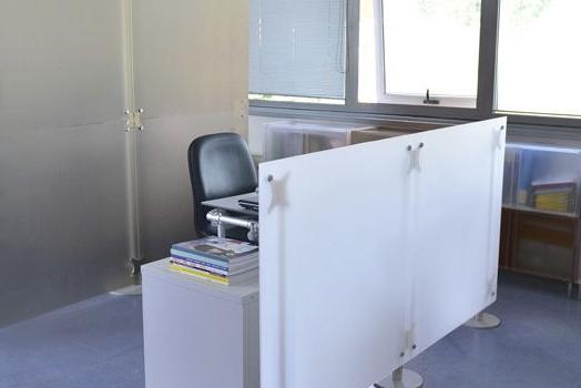 Moderner Sichtschutz für Büro und Gewerbe
