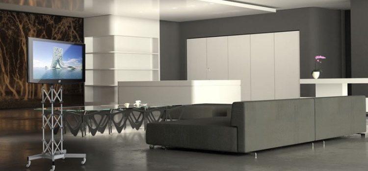 TV Möbel rollbar PLASMATRUSS – LCD TV Ständer