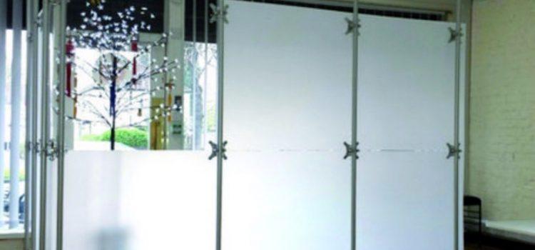 Raumteiler Stellwand lichtdurchlässig und blickdicht