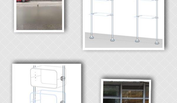 Schaufenster Display gestalten