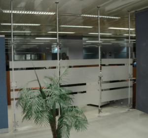Raumteiler Trennwand Büro