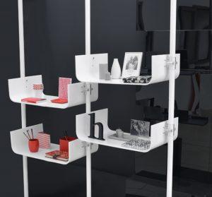 Ladenausstattung weiss Warenpräsentation Einzelhandel