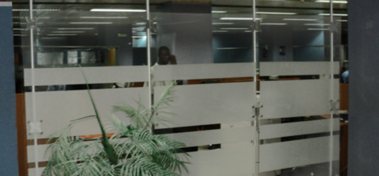 Raumteiler Büro