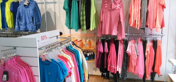 Ladeneinrichtung Sportgeschäft