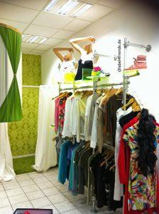Ladeneinrichtung Mode + Textil Kleiderständer