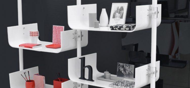 Ladeneinrichtung modern Warenpräsenter weiss