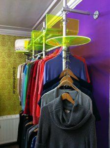 Ladeneinrichtung Textil Mode Kleiderständer