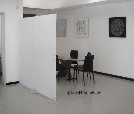 Konferenzraum Abtrennung - Sichtschutz Trennwand im Büro