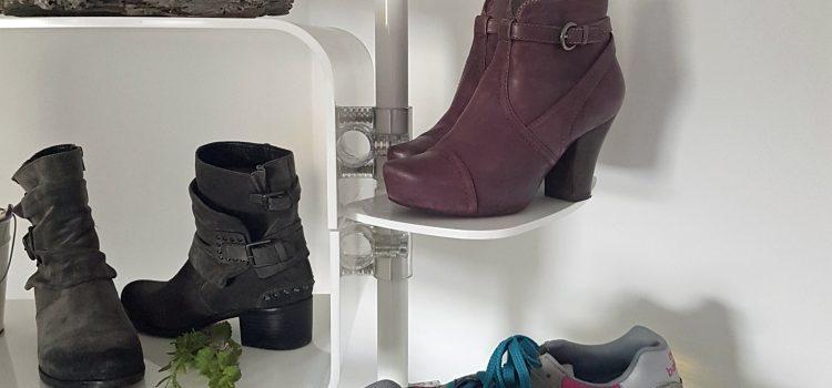 Schuhregale Einzelhandel