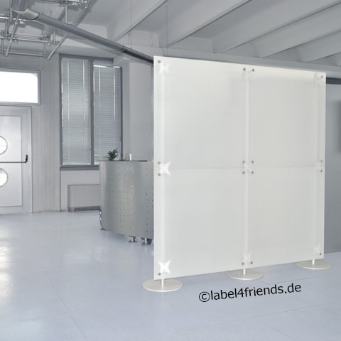 raumteiler sichtschutz ladeneinrichtungen. Black Bedroom Furniture Sets. Home Design Ideas