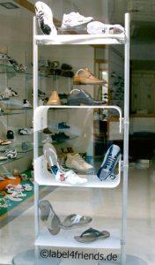 Schuhaufsteller freistehend - Ladeneinrichtung Schuhe