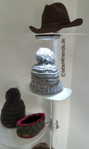 Mobiler Mützen- und Hutständer erweiterbar - umbaubar