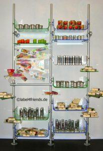 Ladeneinrichtung Drogerie - Warenpräsentation im Einzelhandel