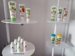 Regalsystem Drogerie und Kosmetik Artikel