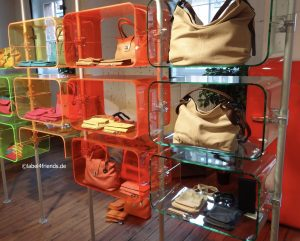 Warenpräsenter Taschen Acrylglas Taschenständer